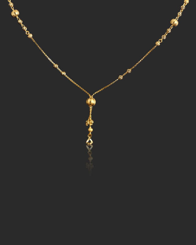 Gold Chains 22 Karat Yellow Gold Afreen 22Kt Gold Chain