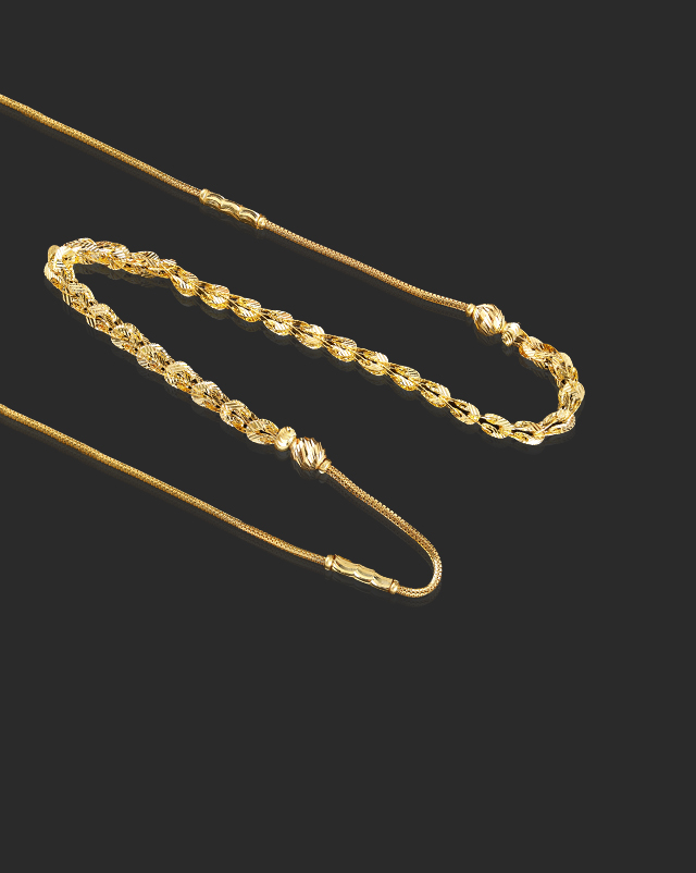 Fancy Linked 22Kt Gold Chain