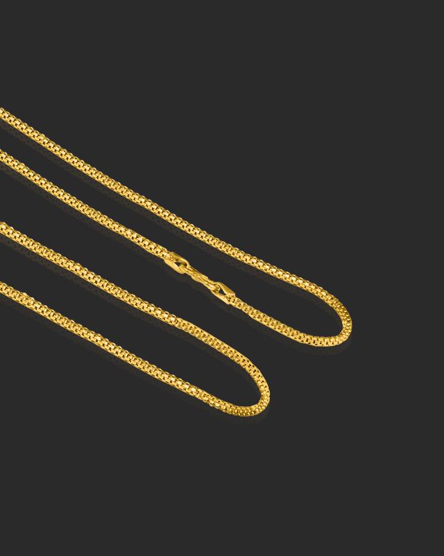 Gold Chains 22 Karat Yellow Gold Enrich Fancy Gold Chain