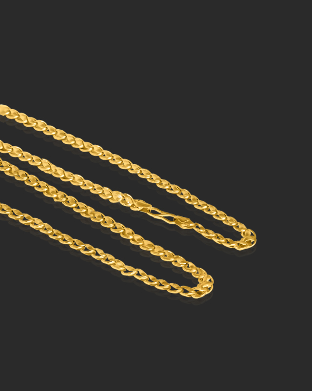 Gold Chains 22 Karat Yellow Gold Delight Fancy Gold Chain