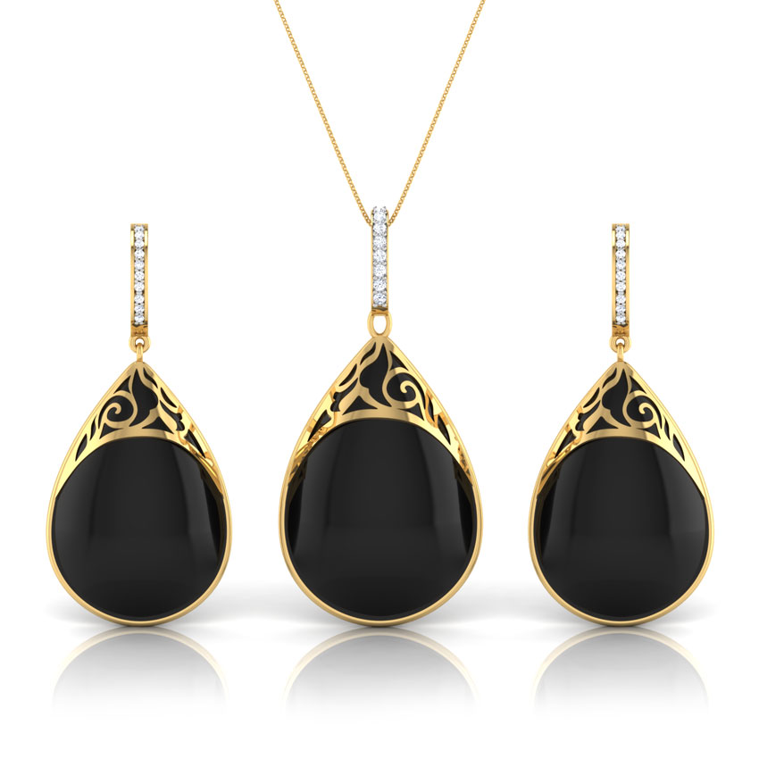 Midnight Black Onyx Matching Set