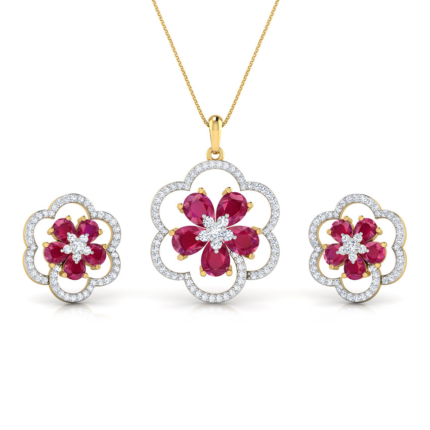Trio Floral Matching Set