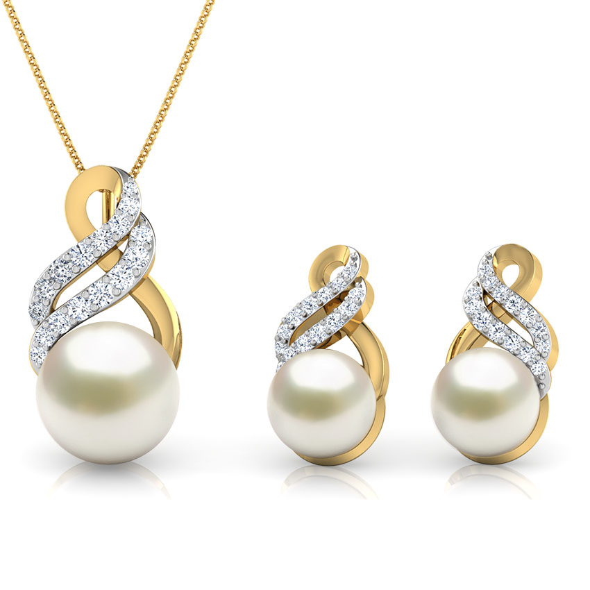 Glaze Pearl Matching Set
