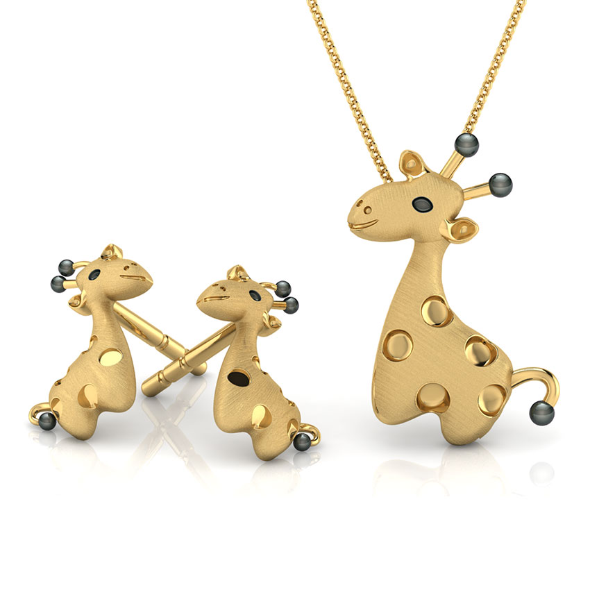 Cute Giraffe Matching Set