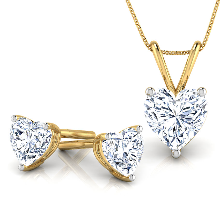 Heartthrob Solitaire Matching Set
