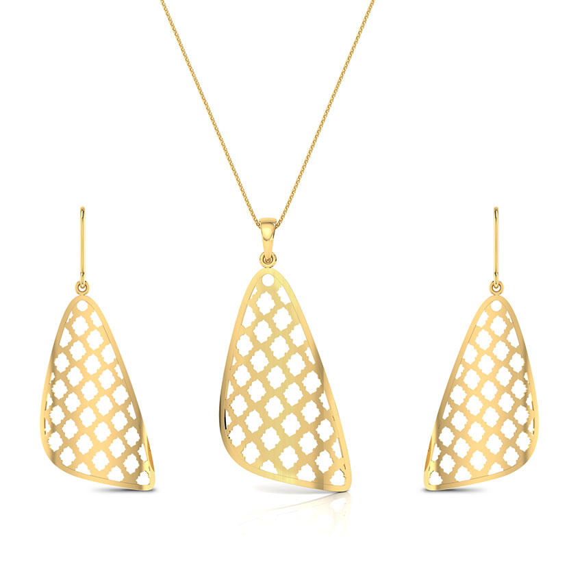Latticed Triangular Matching Set