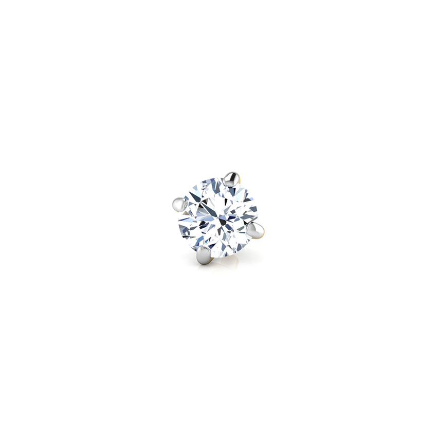 Aria Solitaire Nose Pin