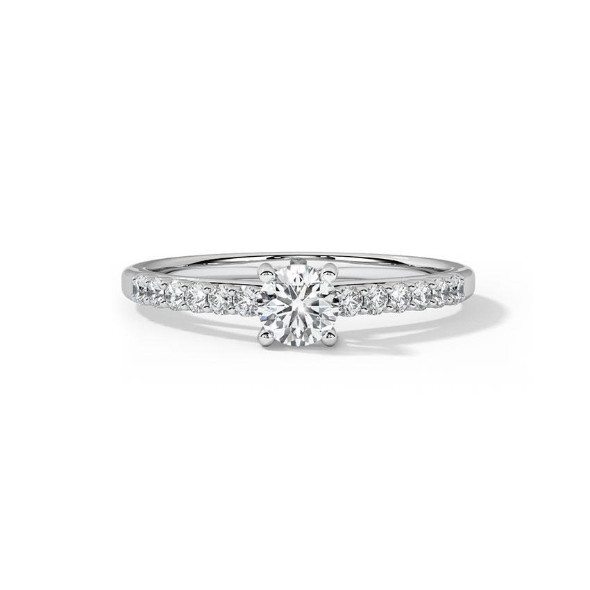 Resplendent Solitaire Ring