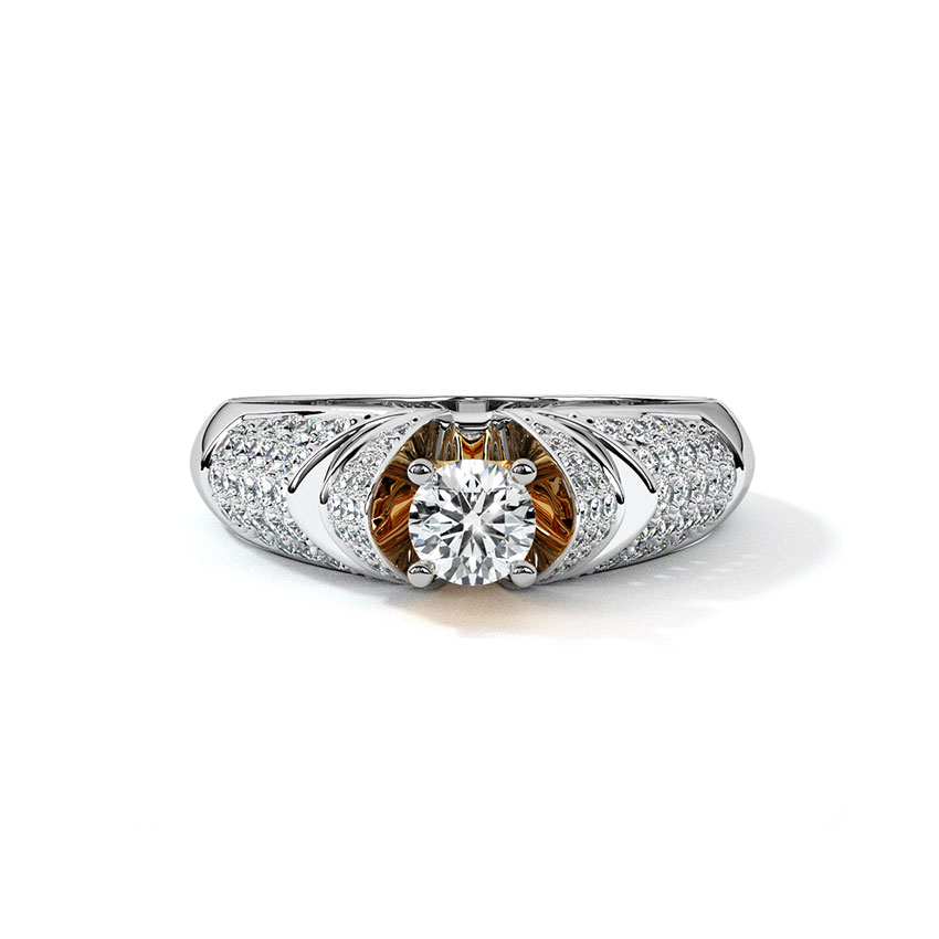 Radiance Solitaire Ring
