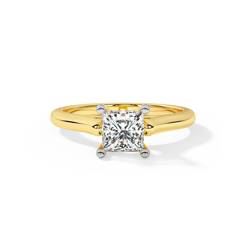 Charm Solitaire Ring