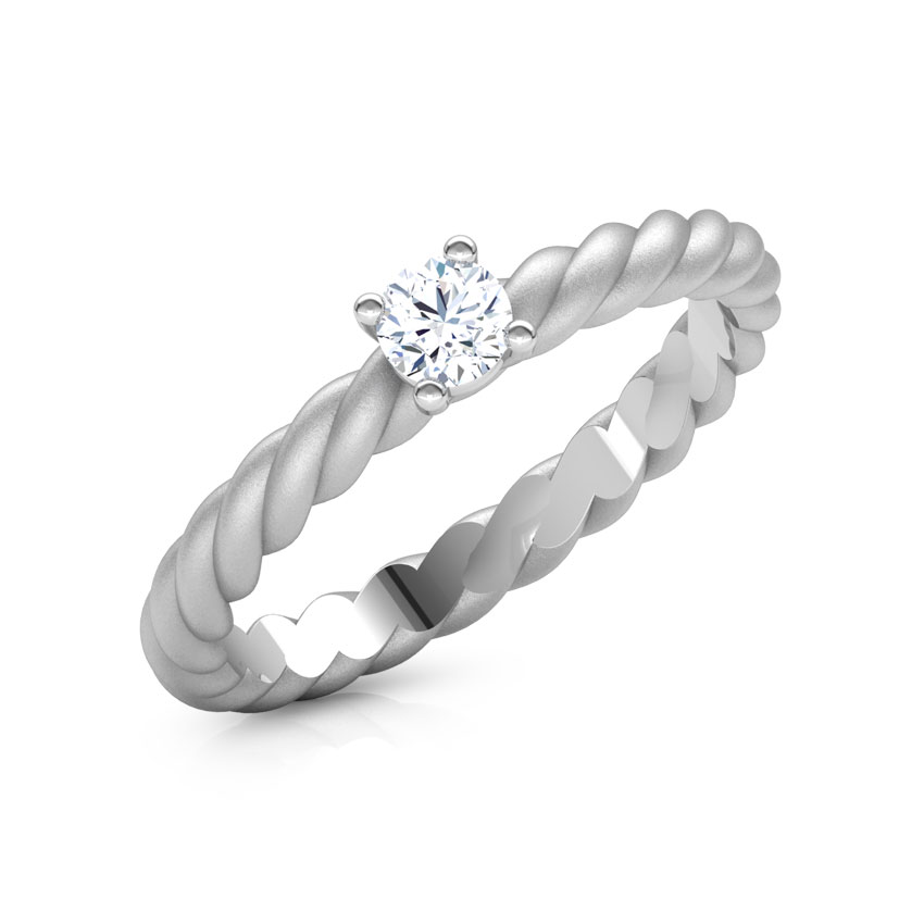 Heavenly Platinum Ring