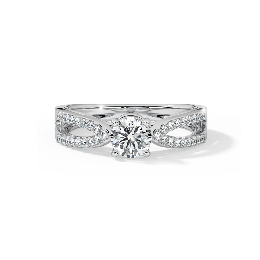 Solitaire Rings 14 Karat Yellow Gold Jen Enticing Solitaire Ring