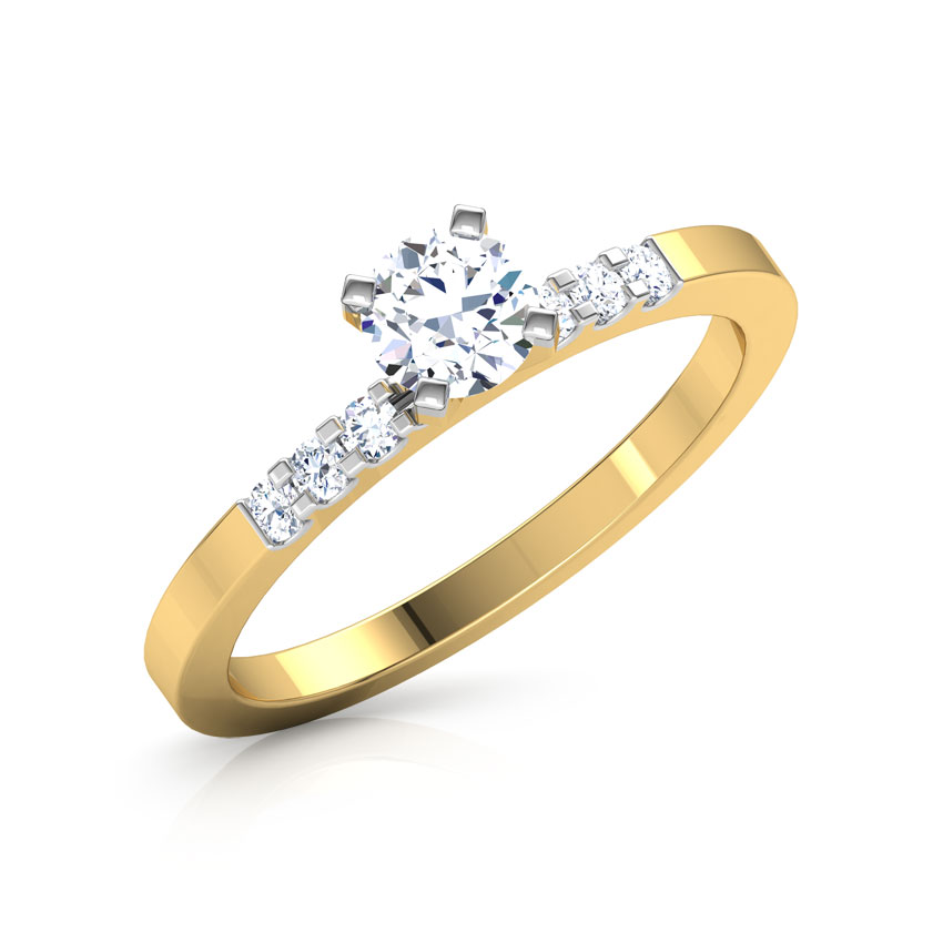 Liza Classic Solitaire Ring