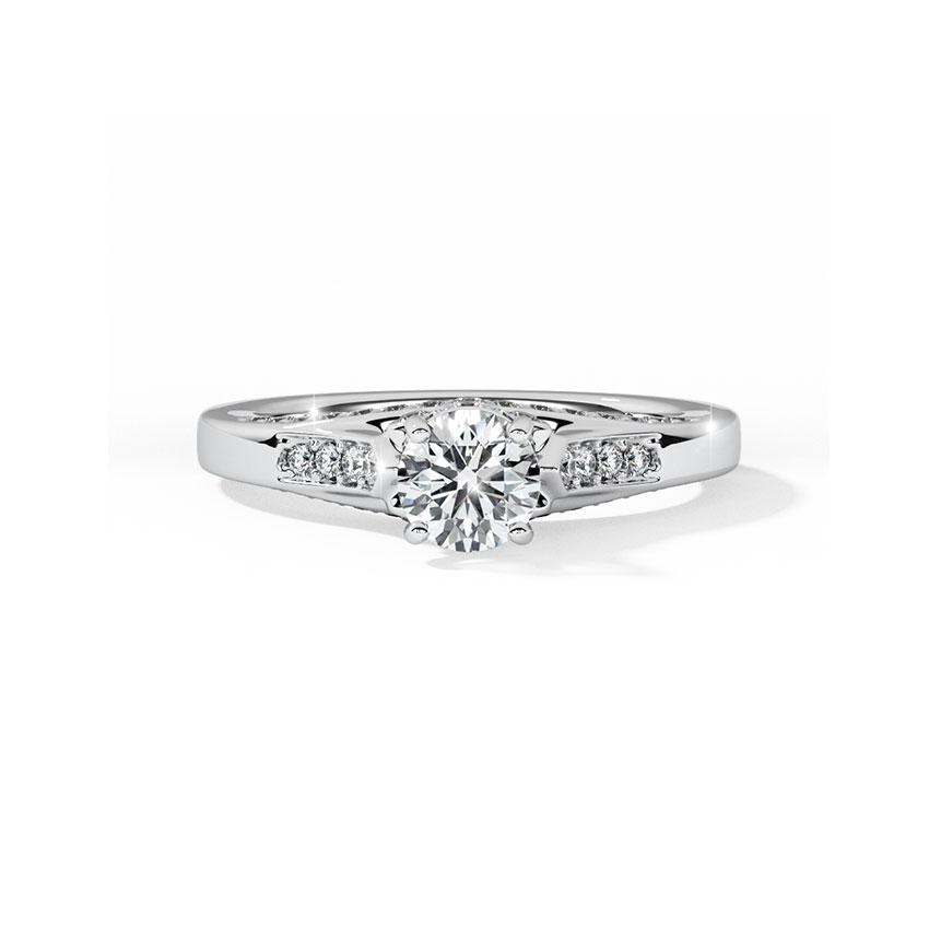 Jenna Elegant Solitaire Ring