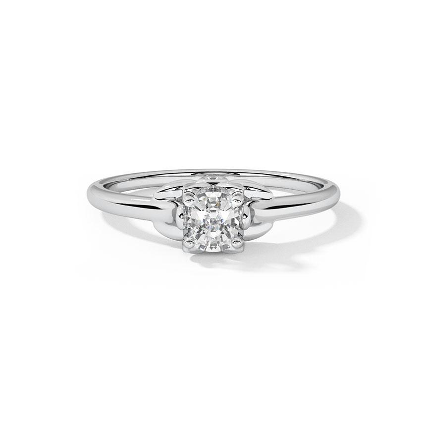 Jade Classic Solitaire Ring