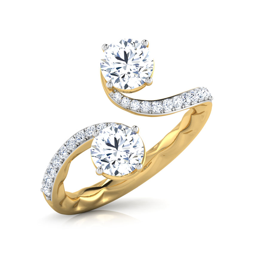 Forever Us Harmony Solitaire Ring