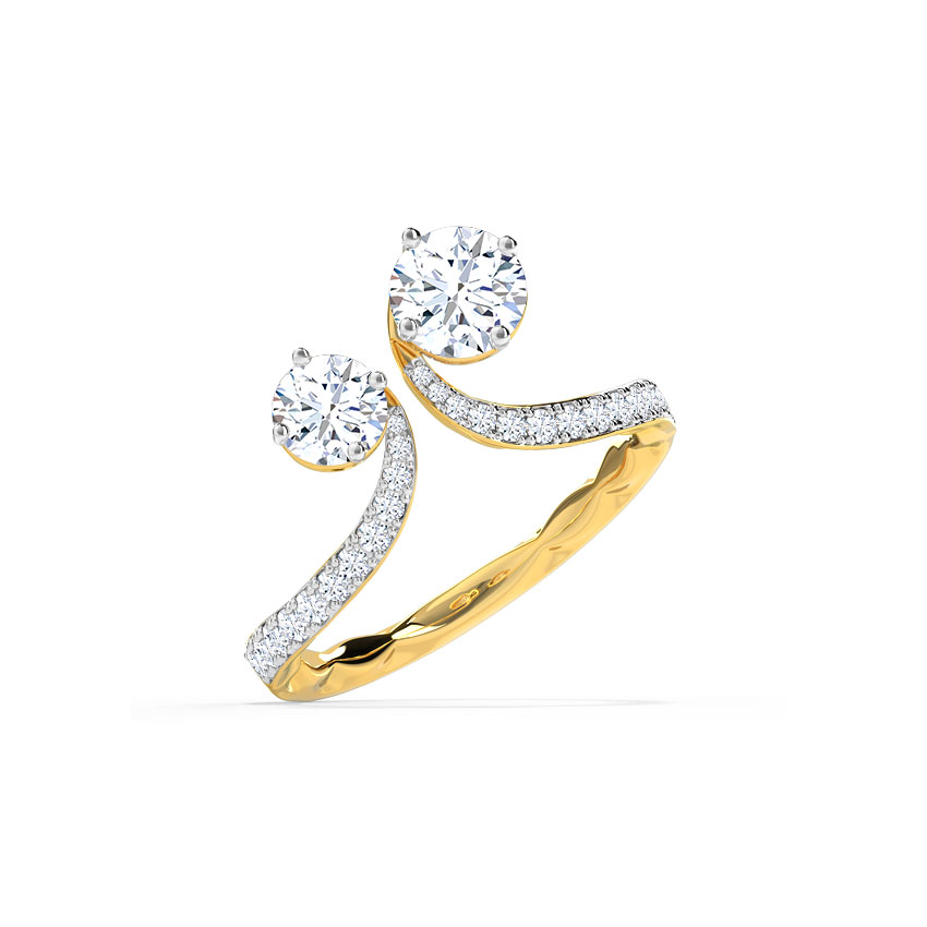 Forever Us Embrace Solitaire Ring