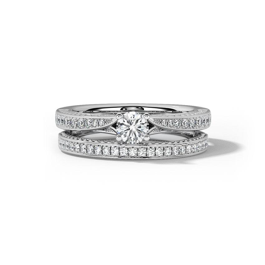 Vibrance Bridal Ring Set