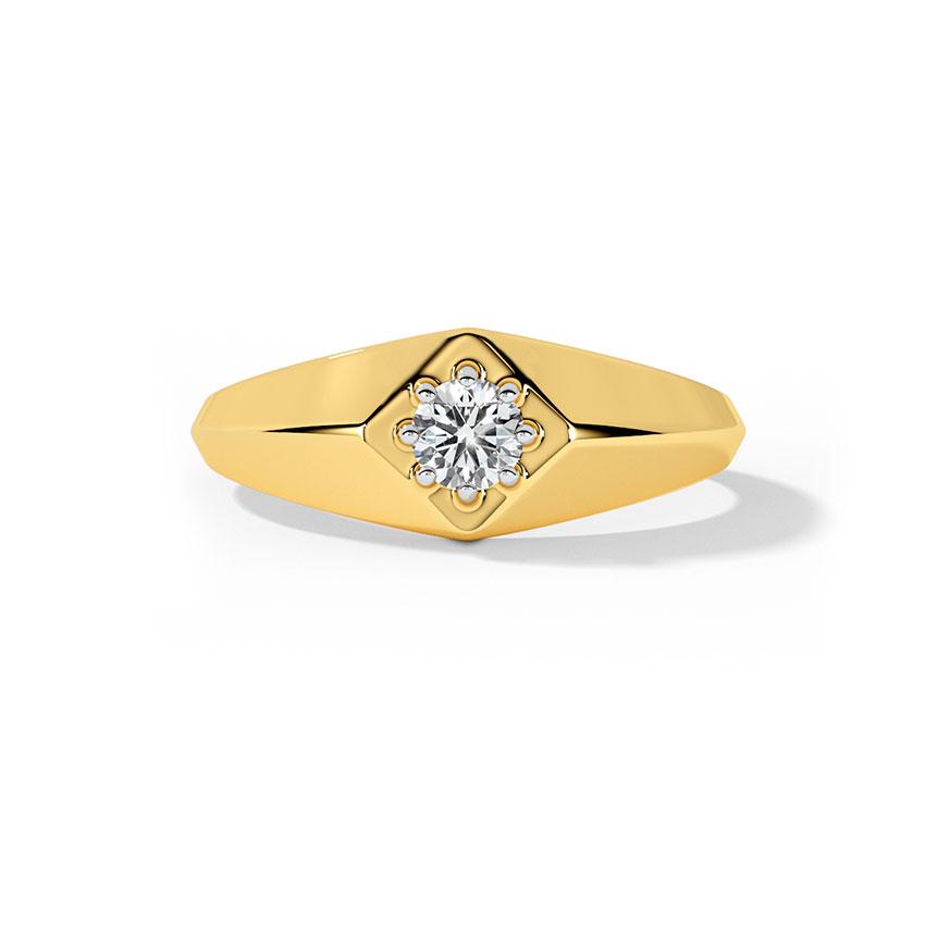 Mark Solitaire Ring for Men
