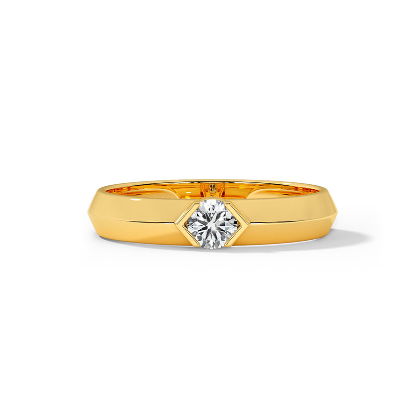 Mason Solitaire Ring for Men