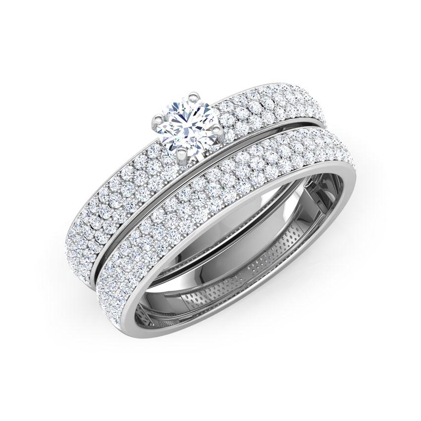 Gleam Bridal Ring Set