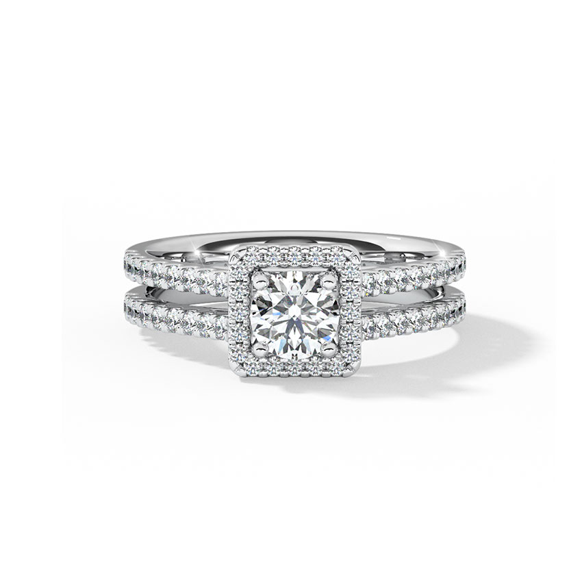 Cristina Quad Solitaire Ring