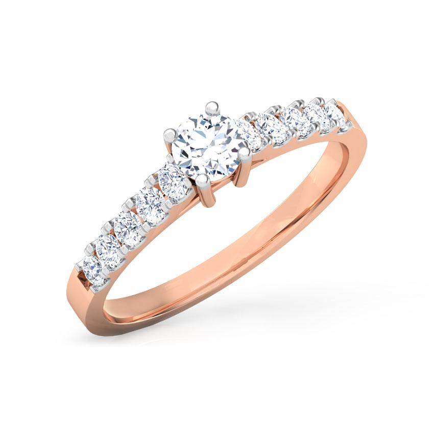 Aubrey Classic Solitaire Ring