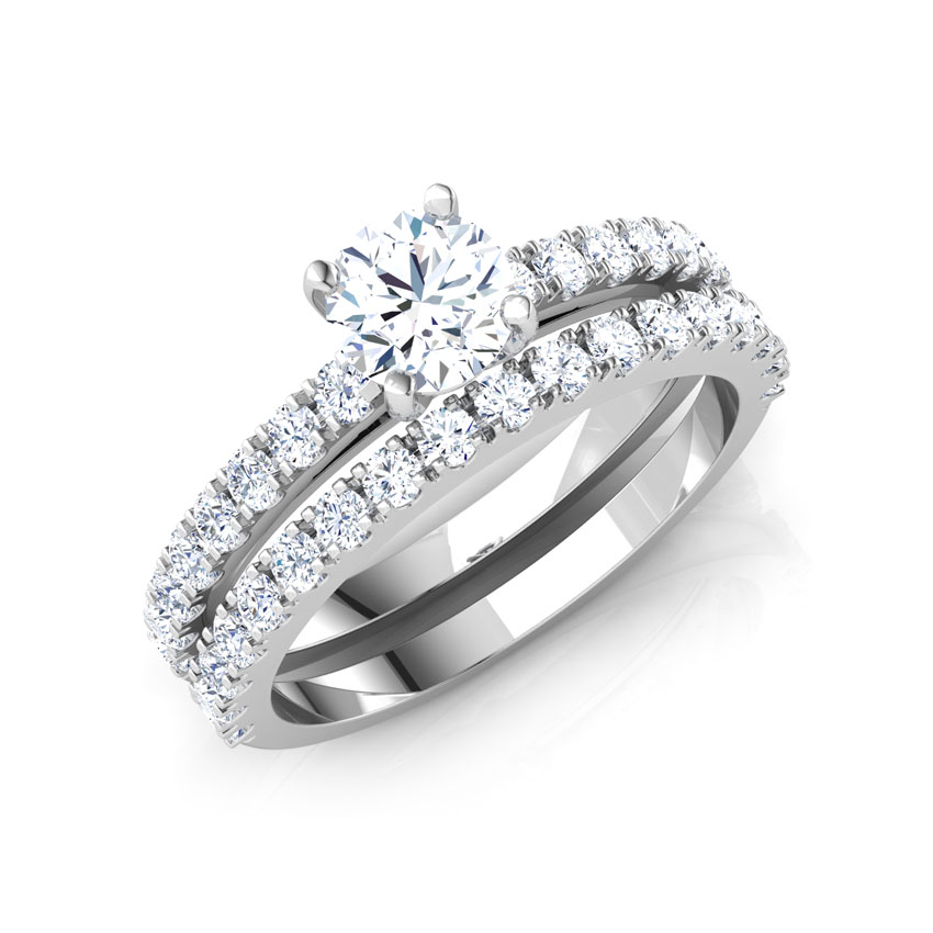 Brilliant Bridal Ring Set