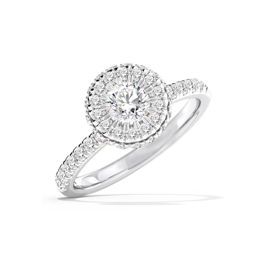 Anika Hearts & Arrows Solitaire Ring