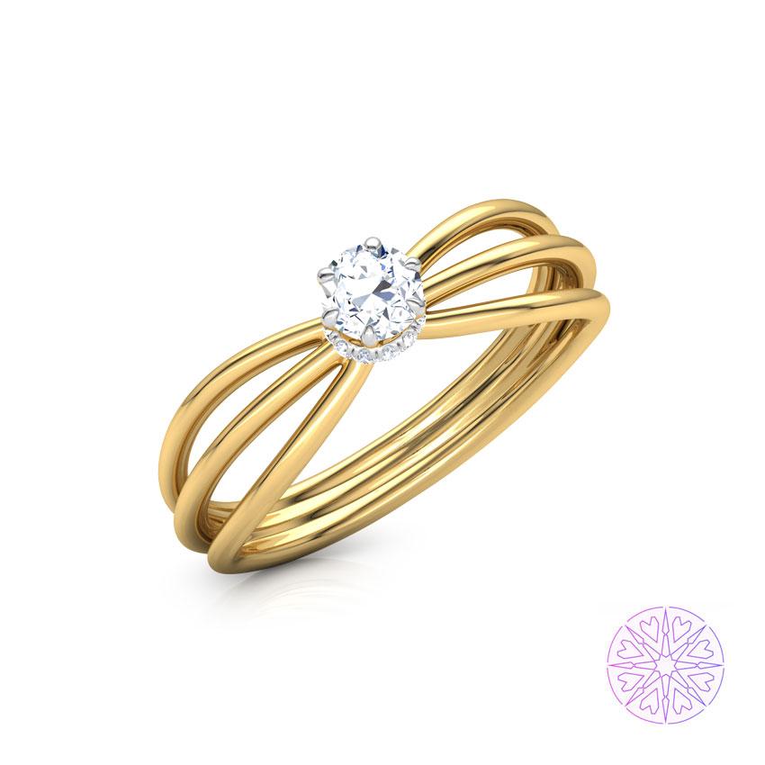 Solitaire Rings 18 Karat Yellow Gold Adara Solitaire Ring