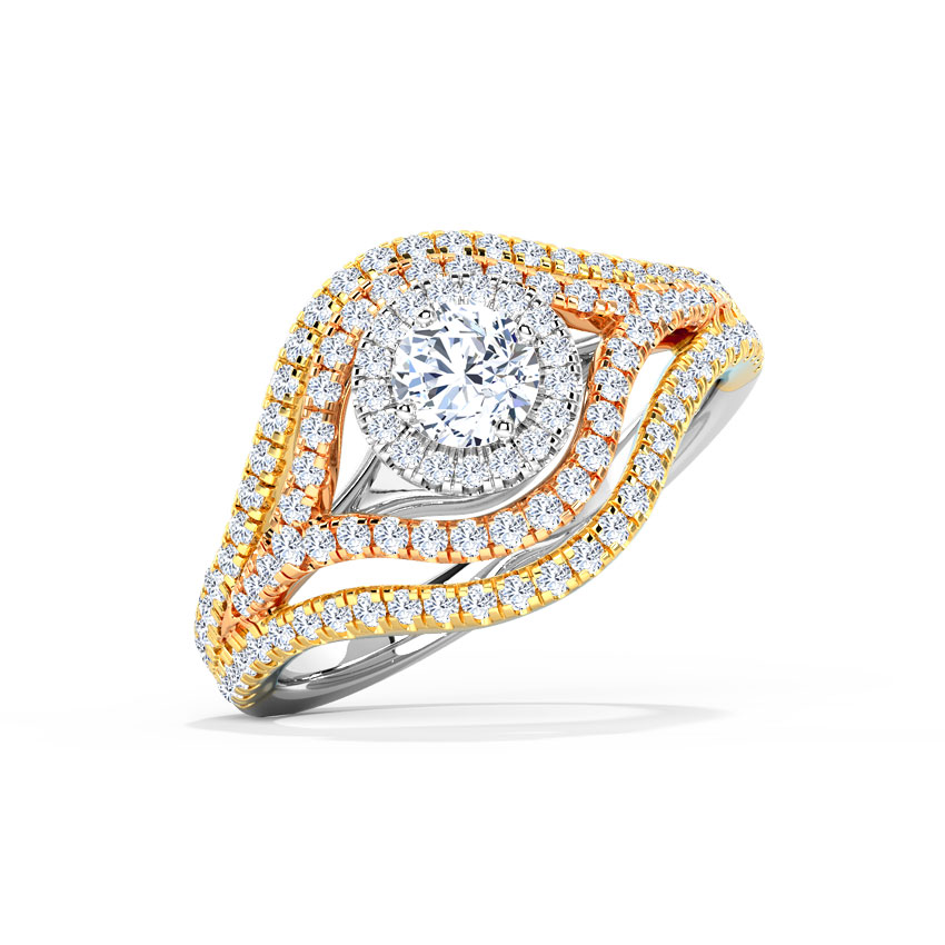 Layla Shimmer Solitaire Ring