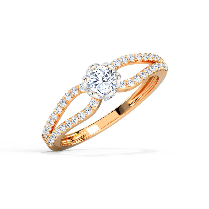 Emma Glow Solitaire Ring