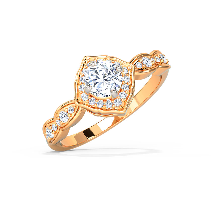 Abigail Brilliant Solitaire Ring