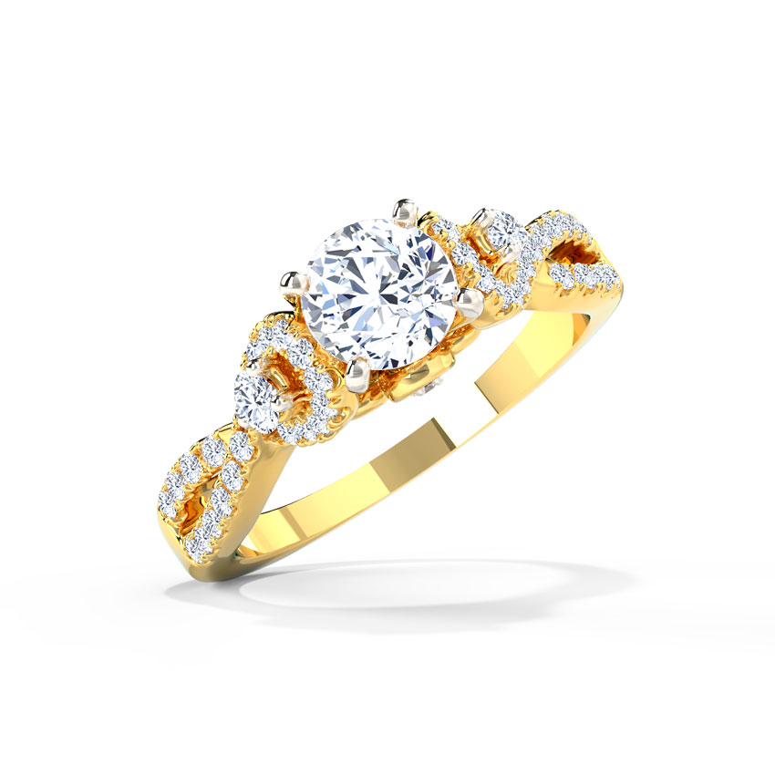 Jovena Solitaire Ring