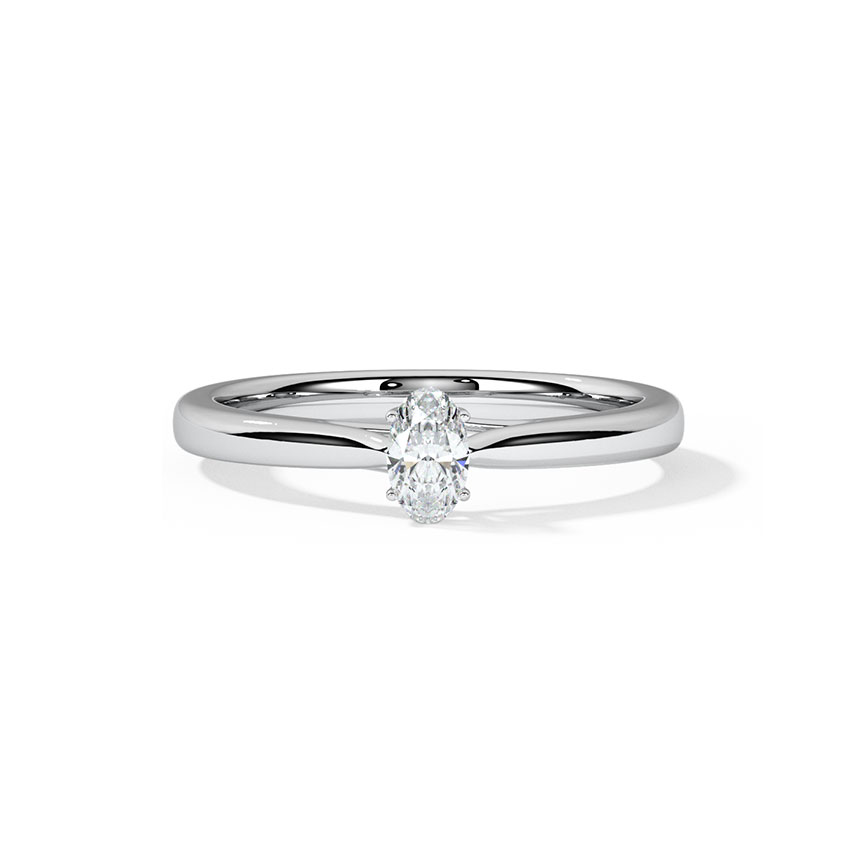 Serenity Solitaire Ring