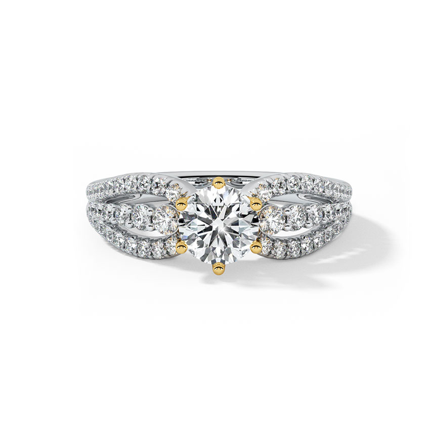 Empress Solitaire Ring
