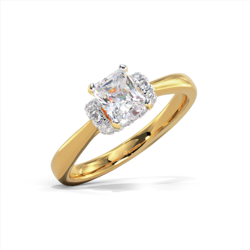 Solitaire Rings 18 Karat Yellow Gold Elina Solitaire Ring