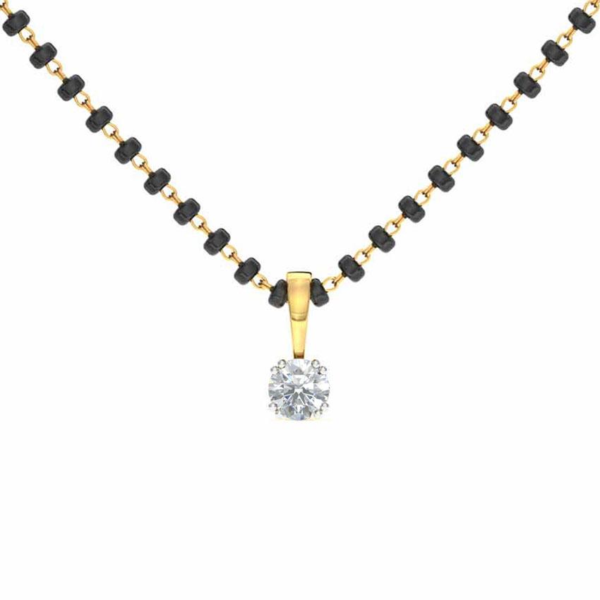 Deepika Solitaire Mangalsutra Jewellery India Online ...