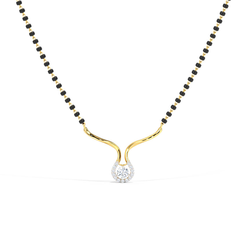 Aahana Solitaire Mangalsutra