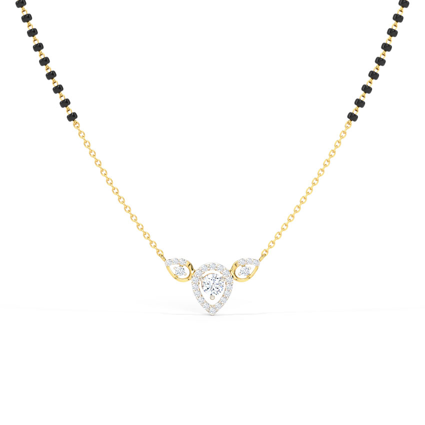 Aamira Solitaire Mangalsutra