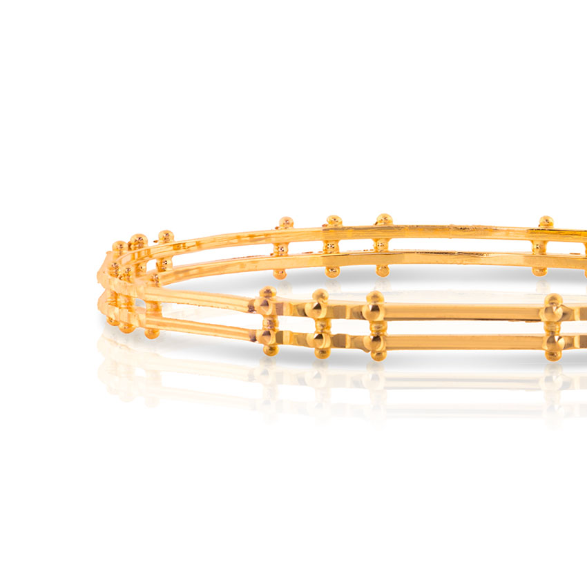Bithi Gleam Gold Bangle