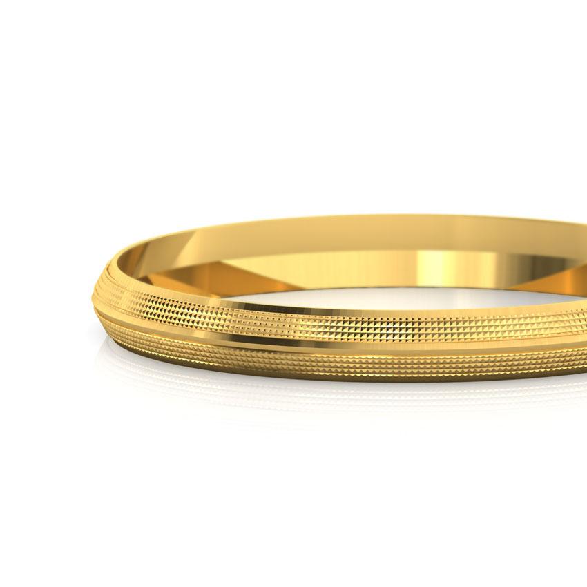 Aaryan Gold Kada For Him