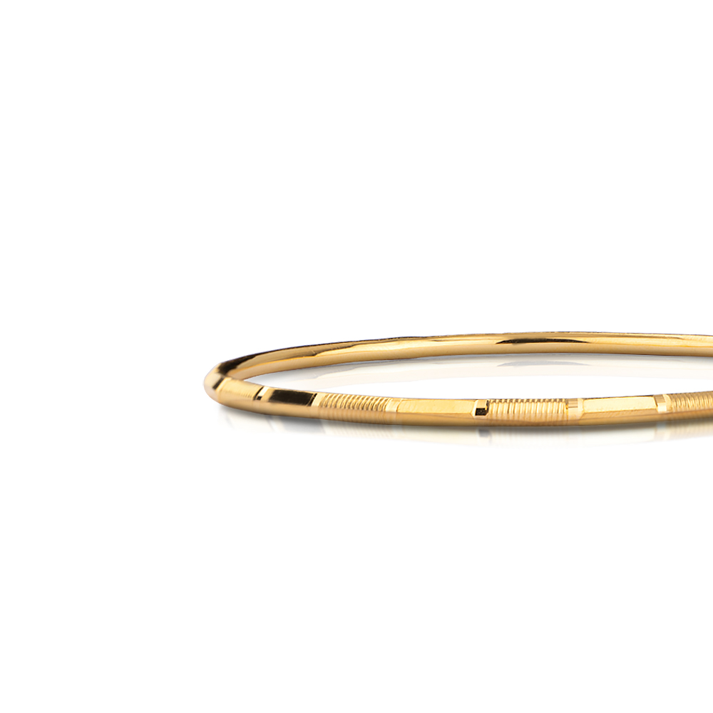 Rubina Gold Bangle