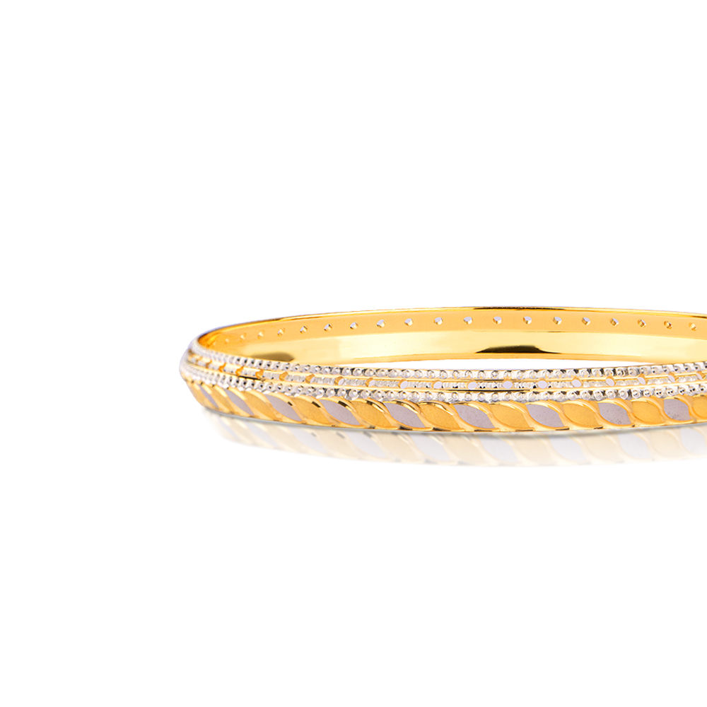 Aurora Gold Bangle