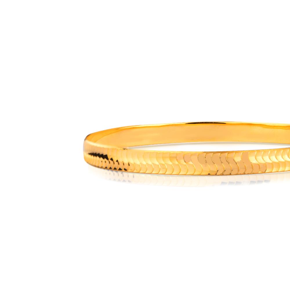 Eshani Gold Bangle