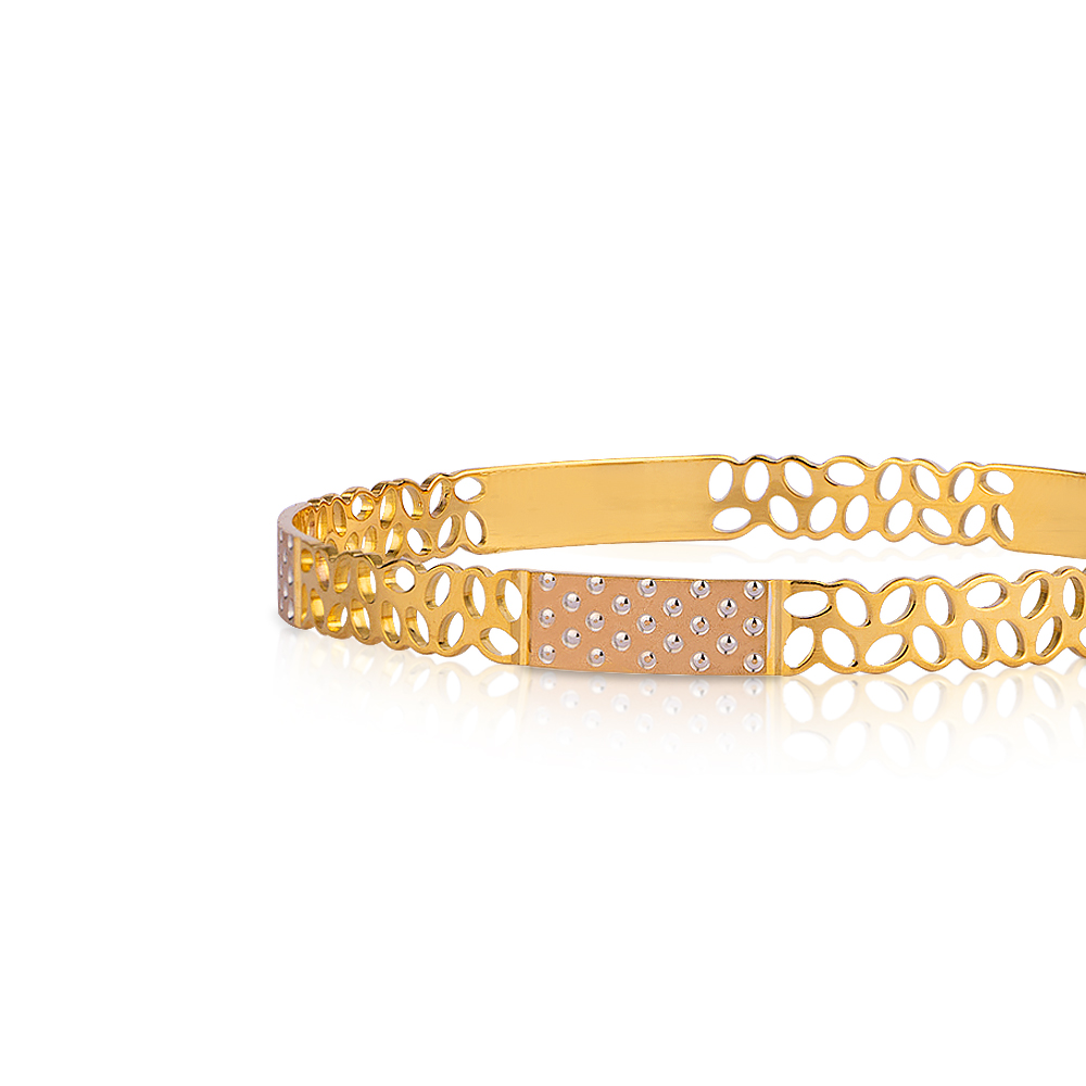 Eva Gold Bangle