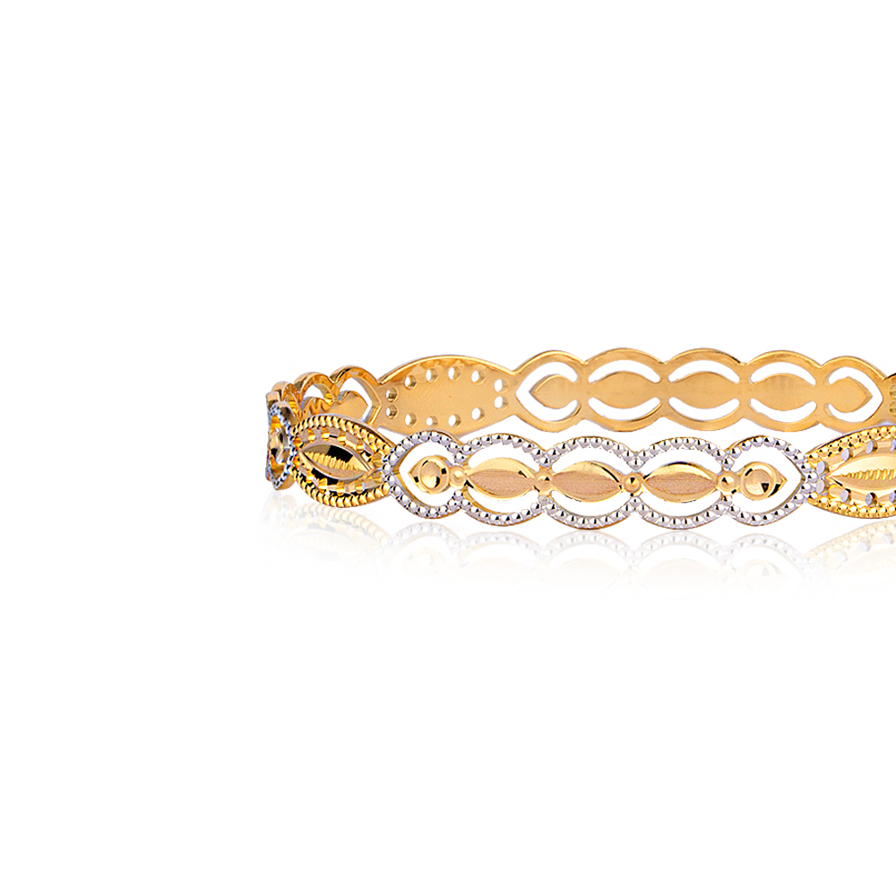 Isha Gold Bangle