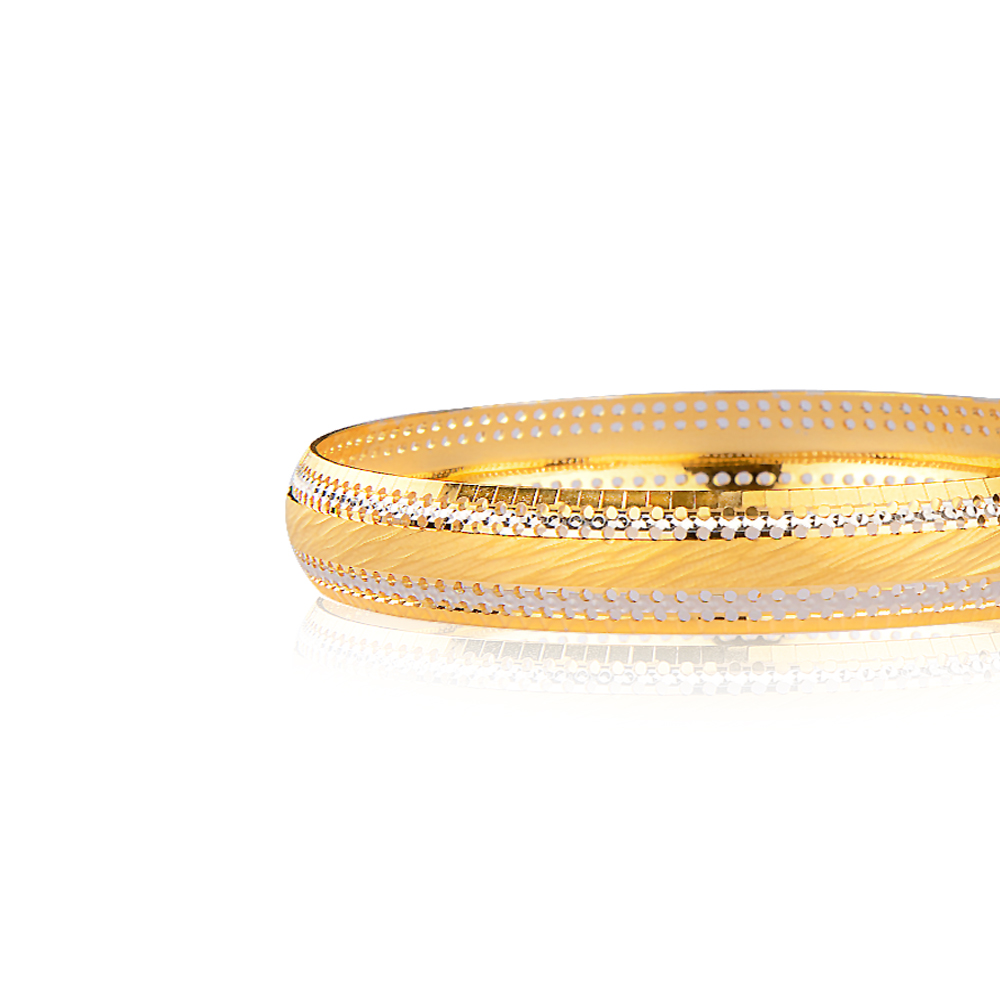 Uma Gold Bangle