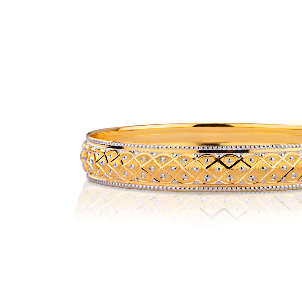 Rupsa Gold Bangle