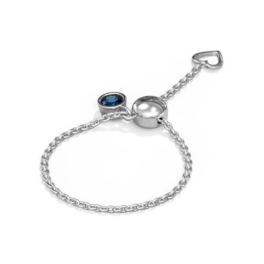 Charmed Heart Flexi Ring